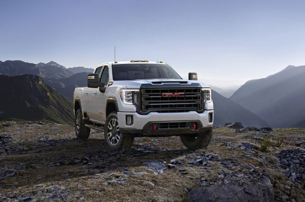 2020 Gmc Sierra 2500hd At4 Exterior Front Quarter 03 Photo 176467096