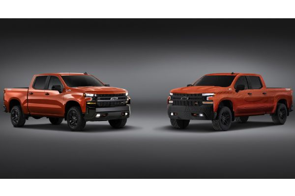 Auto News Four Wheeler 2019 Chevy Silverado Lego Photo 177760453