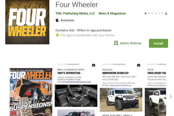 Auto News Four Wheeler Itunes App 1906 Photo 177760468