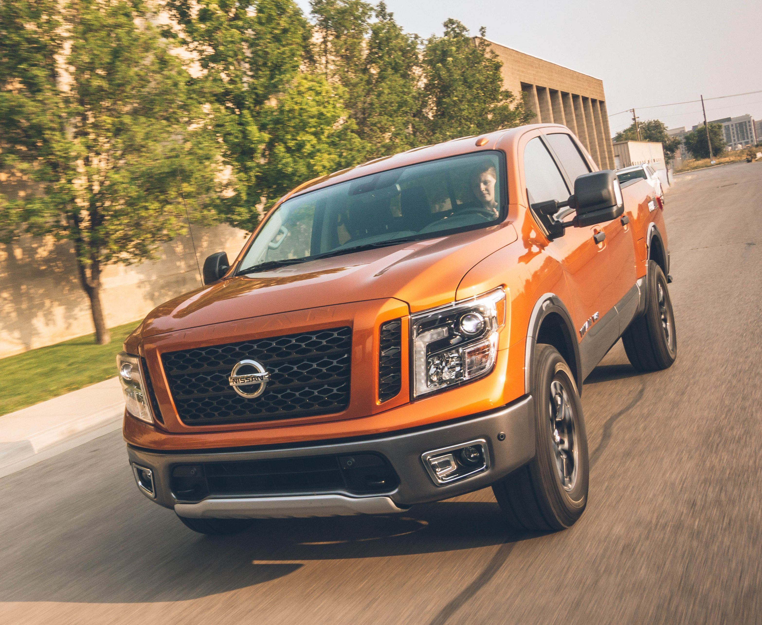 "All 2019 TITAN and TITAN XD models are covered by Nissan's ""America's Best Truck Warranty"" – featuring bumper-to-bumper coverage of 5-years/100,000-miles, whichever comes first. Vehicles covered by the new warranty, which includes basic and powertrain coverage, include all TITAN V8 gasoline-powered models and diesel and V8 gasoline-powered 2019 TITAN XD models."