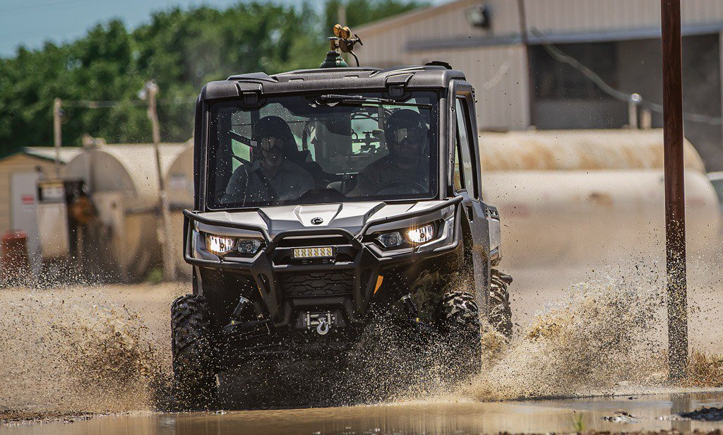 2020 Can-Am Defender Limited Mud